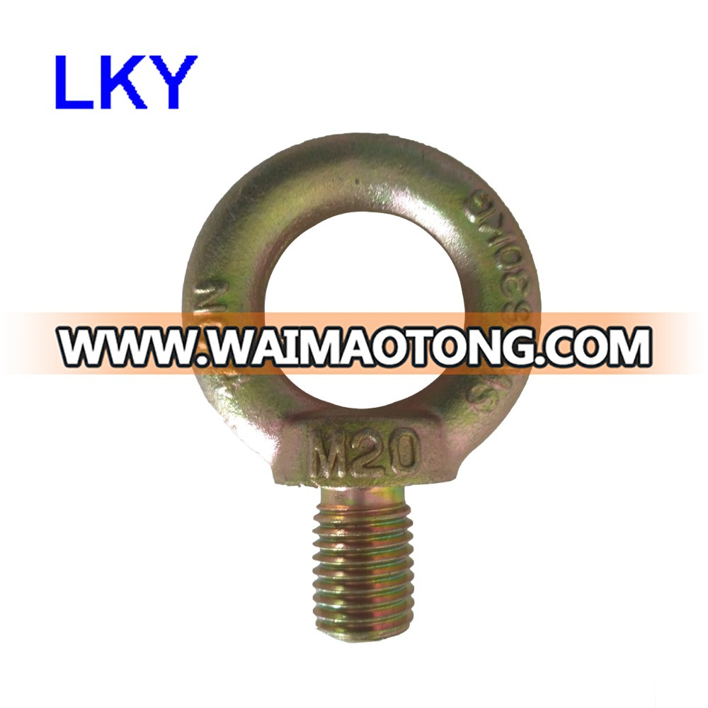 Excellent Quality Galvanized Metal Stainless Steel Eye Bolt And Nut JIS1168